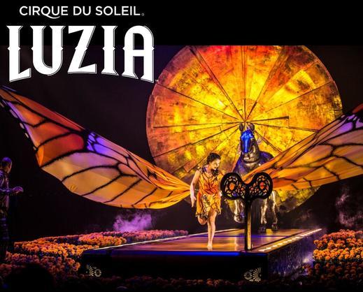 Cirque du Soleil LUZIA in LA, Costa Mesa, DC & Boston